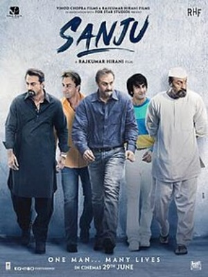 Sanju Movie Poster Ranbir Kapoor