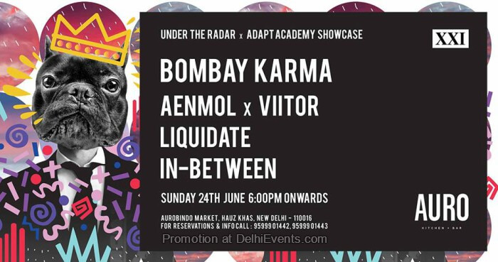 UTR Adapt Academy Bombay Karma Auro Kitchen Bar Creative
