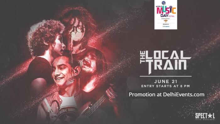 World Music Day feat Local Train Hard Rock Cafe Gurugram Creative