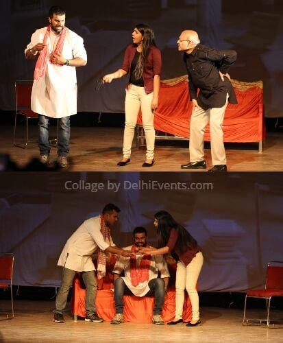 All Idiots Hindi Comedy Play SP Singh Stills