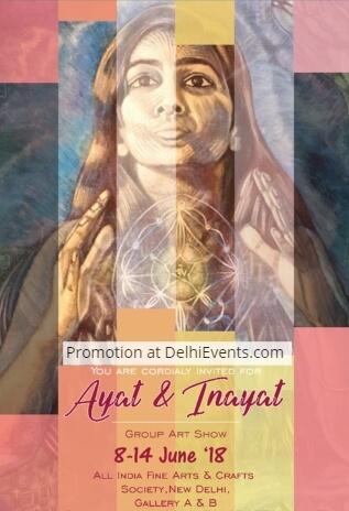 Ayat Inayat group show artworks Meraki Art House Creative