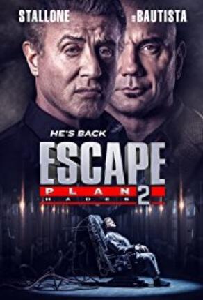 Escape Plan Hades Movie Poster