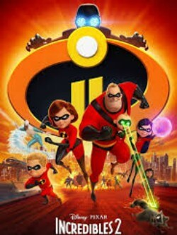 Incredibles 2 Animation Comedy Film Poster