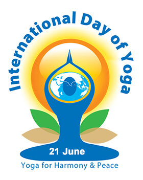 International Day Yoga Logo