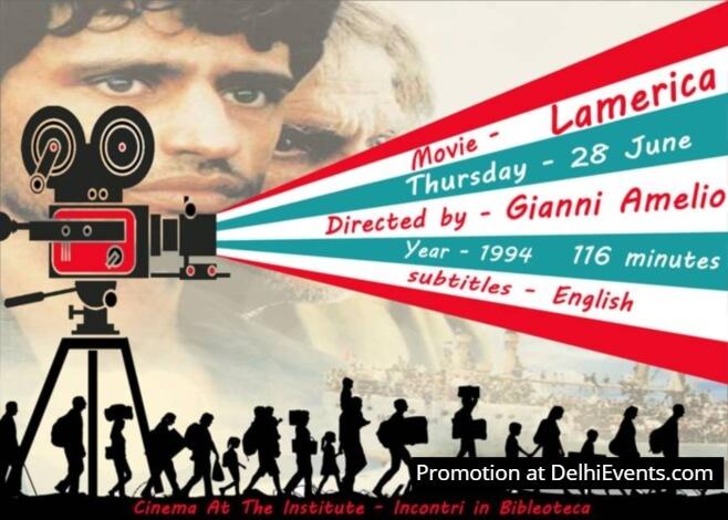 Lamerica Italian Institute film Creative