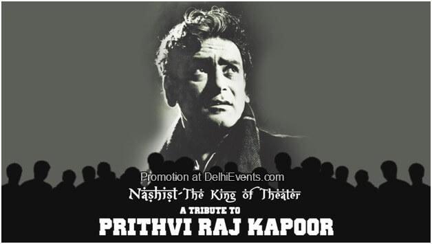 Nashist stage screen icon veteran Prithviraj Kapoor king theater Creative
