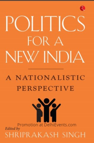 Politics New India Nationalistic Perspective Edited Shriprakash Singh Book Cover