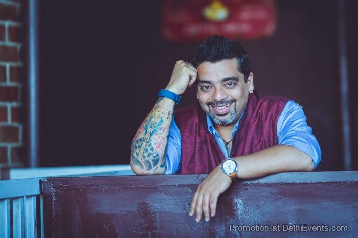 Comedian Jeeveshu Ahluwalia