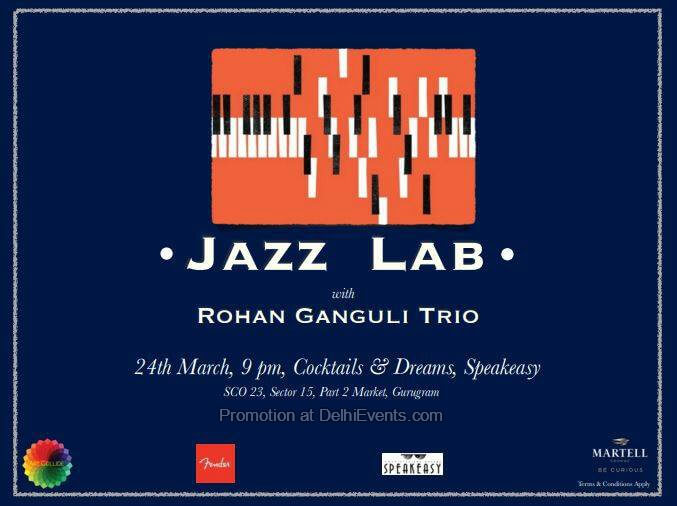Jazz Lab Rohan Ganguli Trio Speakeasy Creative