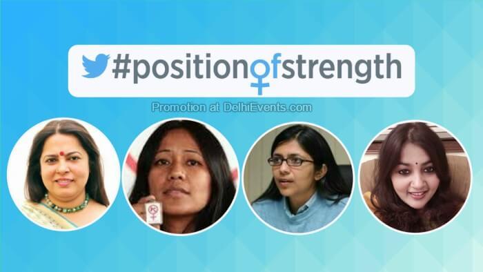 PositionOfStrength Twitter India YKA Women Day 2018 Auro Kitchen Bar Creative