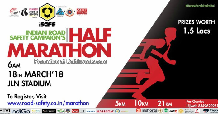 Safe Road Half Marathon Creative