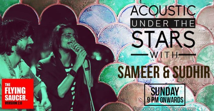 Sameer Sudhir Flying Saucer Cafe Creative
