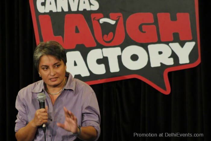 Comedian Vasu Primlani