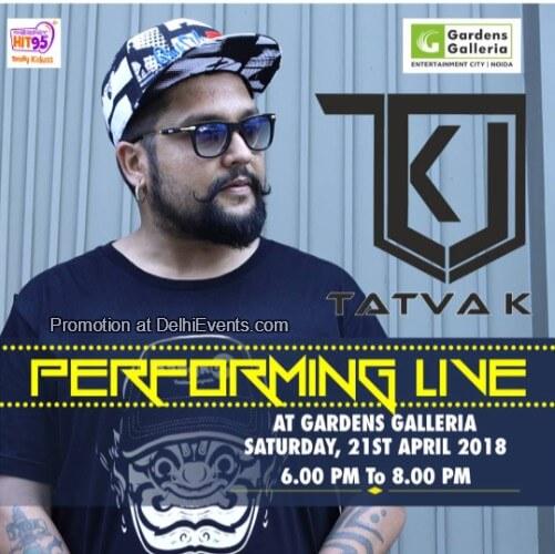 DJ Tatva K Gardens Galleria Mall Creative