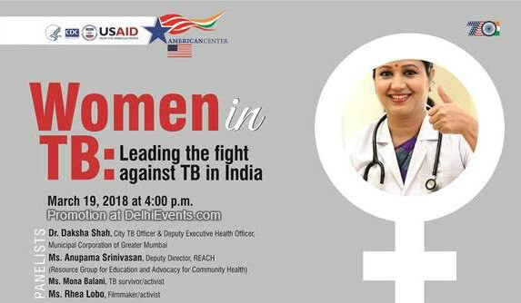 Women TB fight against TB India American Center Creative