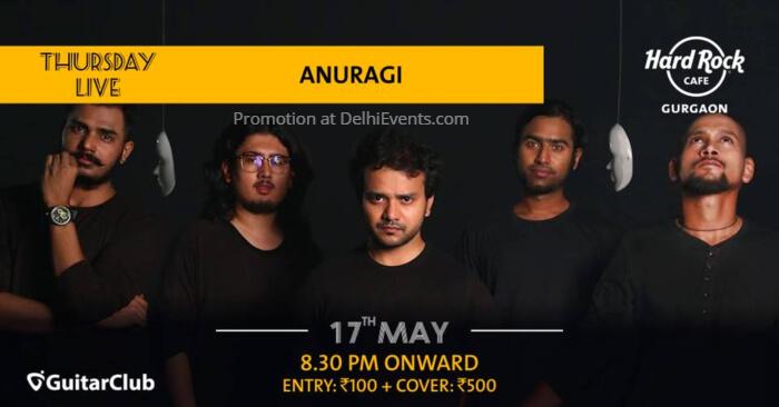 Anuragi Hard Rock Cafe Gurugram Creative