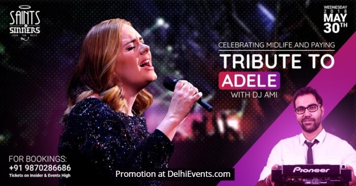 Celebrating Midlife Tribute Adele Saints N Sinners Creative