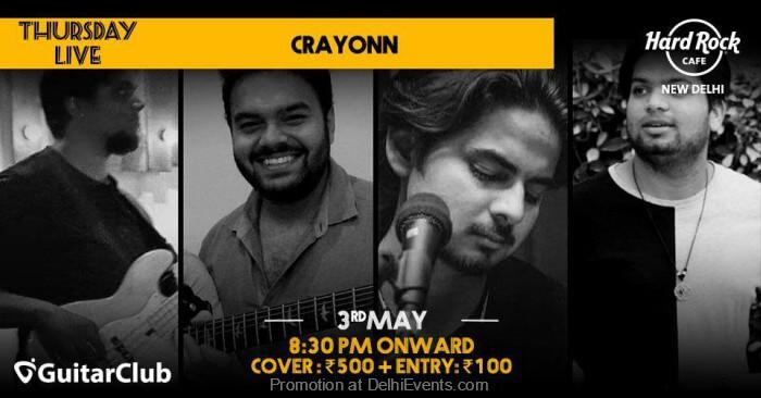 Crayonn Hard Rock Cafe Creative