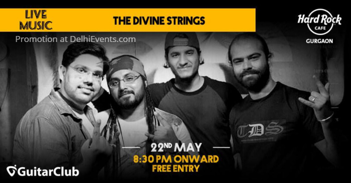 Tuesday Divine Strings Hard Rock Cafe Gurugram Creative