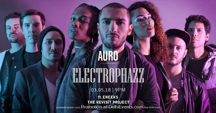 Electrophazz Eneeks Revisit Project Auro Kitchen Bar Creative
