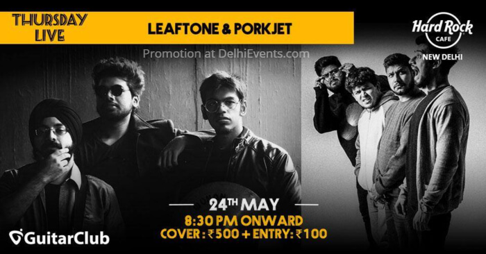 Leaftone Porkjet Hard Rock Cafe Saket Creative