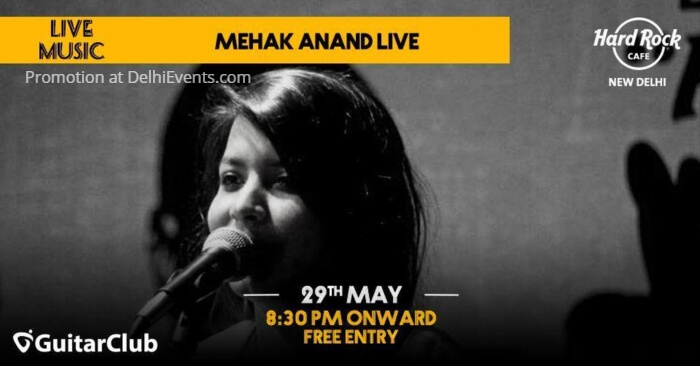 Mehak Anand Hard Rock Cafe Creative