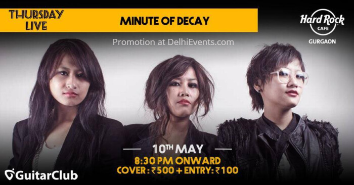 Minute Decay Hard Rock Cafe Gurugram Creative