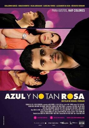 My Straight Son Azul no tan rosa Spanish Film Poster