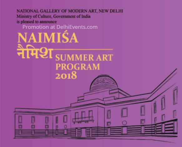 NAIMISA Summer Art Program 2018 NGMA Creative
