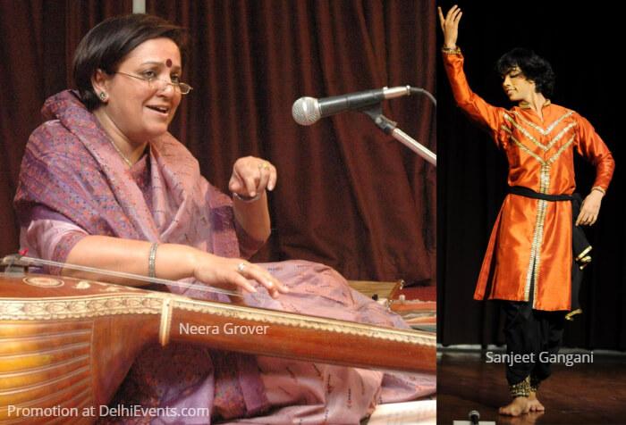Vocalist Neera Grover Dancer Sanjeet Gangani