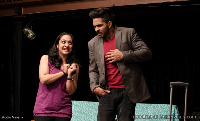 Great Indian Storytellers Pyaar Ne Punch Maara Hinglish Comedy Play Still