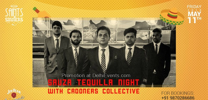 Sauza Tequila Night Crooner Collective Saints N Sinners Creative
