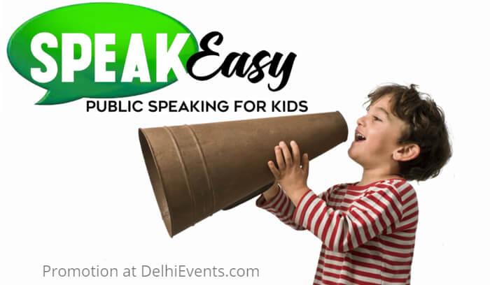 Hands On SpeakEasy Public Speaking Kids Creative