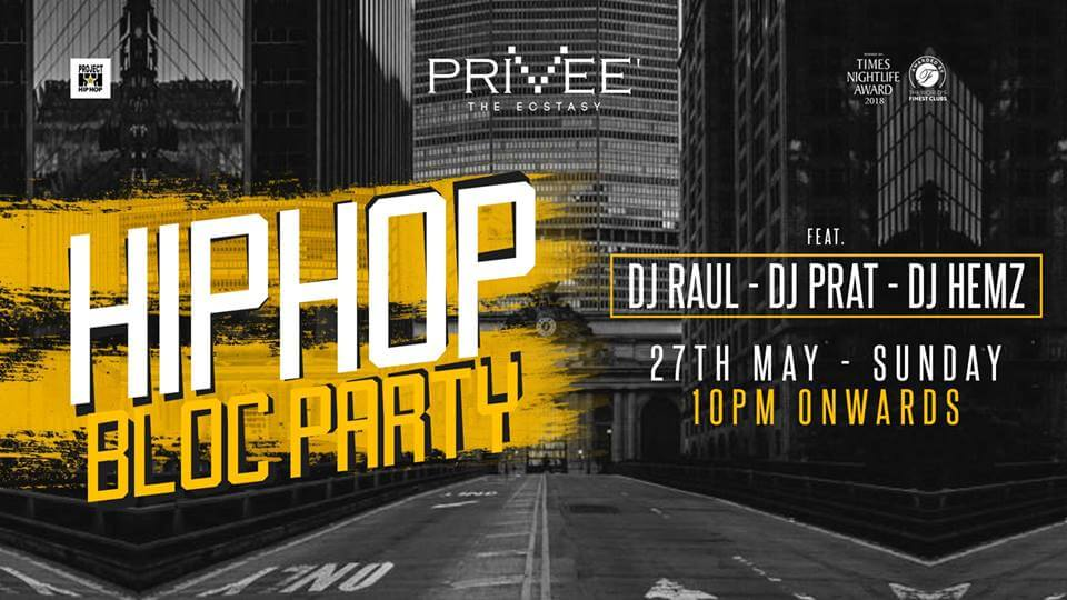 Sunday Hip Hop Bloc Party Privee Creative
