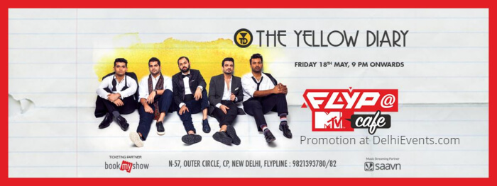 Yellow Diary EP Launch Flyp MTV Cafe Creative