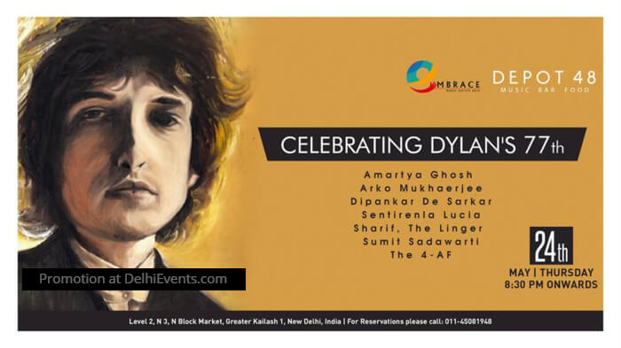 Celebrating Bob Dylan Depot48 Creative