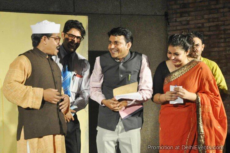 Saksham Theatre Ek Mamooli Aadmi Hindi Play Still