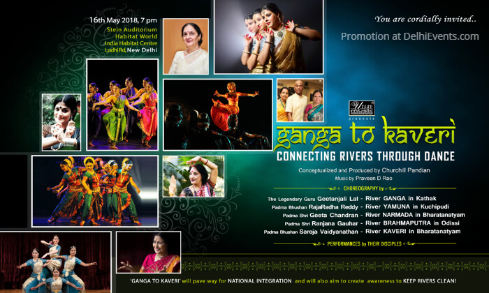 Ganga Kaveri Connecting Rivers Dance India Habitat Centre Creative