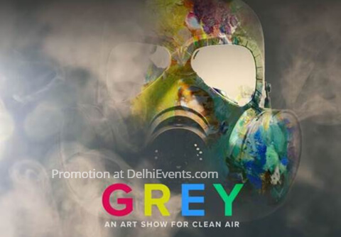 Grey Art Show Clean Air American Center Creative