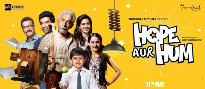 Hope Aur Hum Comedy Hindi Naseerudin Shah Sonali Kulkarni Multiplexes Poster
