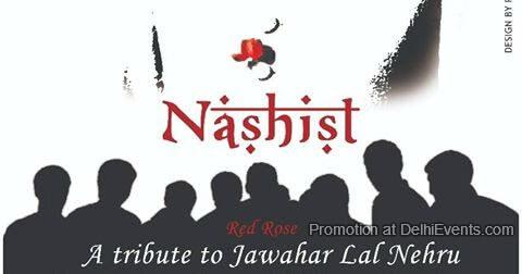 Impresario Asia Red Rose literary tribute scholar statesman Pt. Jawaharlal Nehru D.P. Tripathi Creative