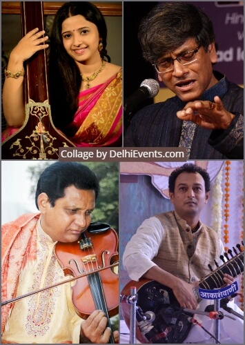 14th SaMaPa Sangeet Sammelan IHC Artists