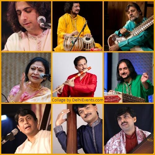 14th SaMaPa Sangeet Sammelan Kamani Artists