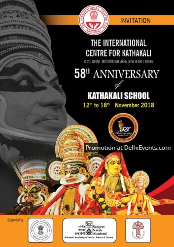 International Centre Kathakali 58th Anniversary Kathakali School Creative
