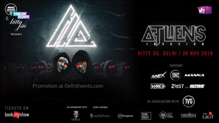 MHC Throwdown ATLiens Invasion India Tour Kitty Su Creative