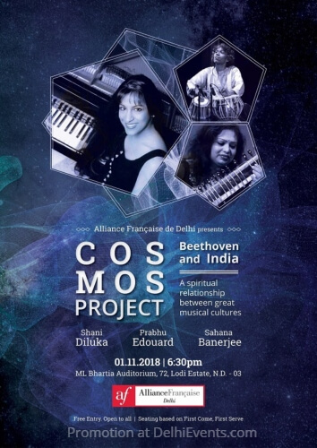 COSMOS Project Beethoven India spiritual relationship great musical cultures Alliance Francaise Creative