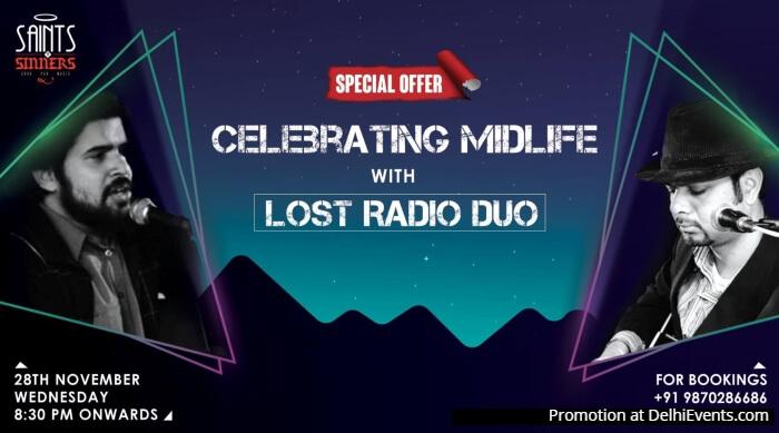 Celebrating Midlife Lost Radio Duo Saints Sinners Creative