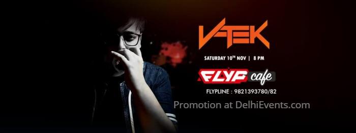 DJ VTek Flyp Cafe Creative