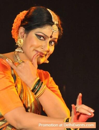 Dancer Geeta Chandran