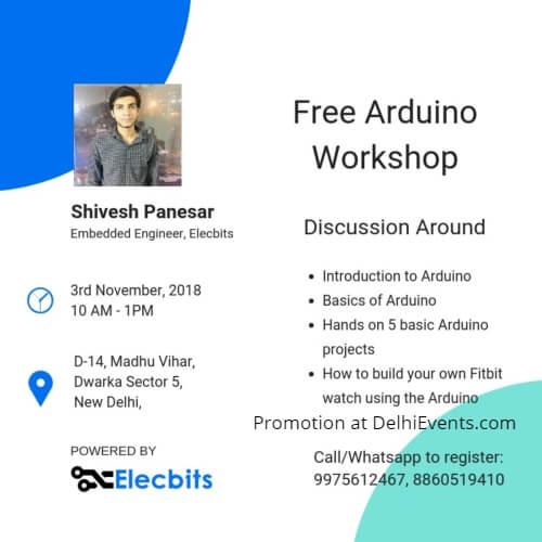 Free Arduino Workshop Elecbits Creative